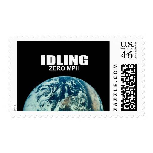 IDLING - ZERO MPH STAMP