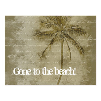¡Ido a la playa! Cambio de postales de la