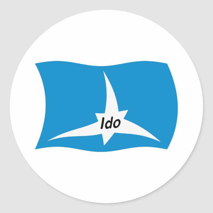 Ido Flag Sticker