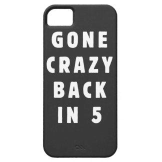Ido loco, trasero en 5 iPhone 5 carcasas
