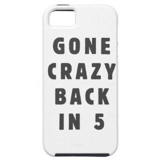 Ido loco, trasero en 5 iPhone 5 funda