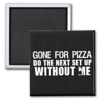 Ido para la pizza imanes de nevera