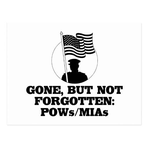 Ido, pero no olvidado: POWs/MIAs Tarjetas Postales