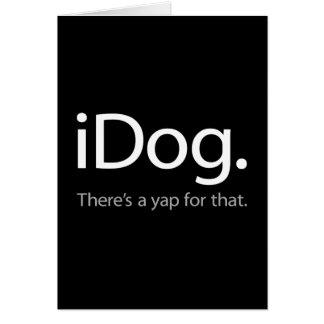 iDog-white.ai Card
