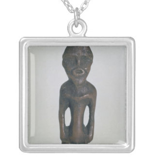 Idol, 4th millennium BC Silver Plated Necklace