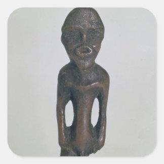 Idol, 4th millennium BC Square Sticker