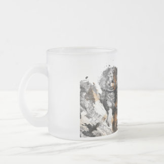 Idol Design Addict Creation - Assembly Effects Frosted Glass Coffee Mug