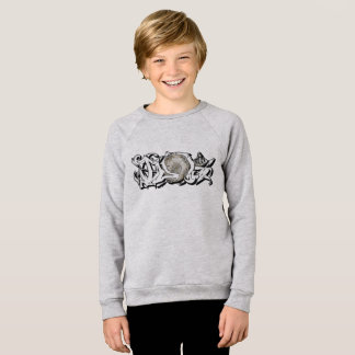 Idol Graffiti Moon Hit Up Sweatshirt