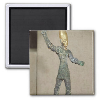 Idol of the god Baal from Ugarit Syria Refrigerator Magnet
