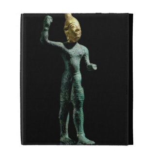 Idol of the storm god Baal, from Syria, Bronze Age iPad Case