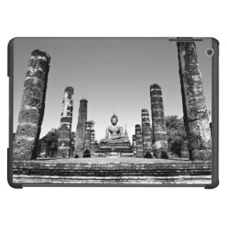 Idol Themed, A Large Statue Of A God Next To Stone iPad Air Covers