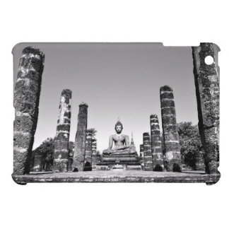 Idol Themed, A Large Statue Of A God Next To Stone iPad Mini Cover