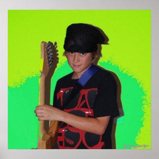 ídolo adolescente póster