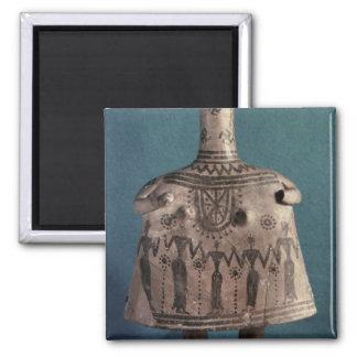 Ídolo de Bell, de Thebes, Boeotia, c.700 A.C. Imán De Nevera
