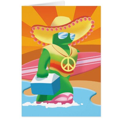 Idolz Acho Greeting Card