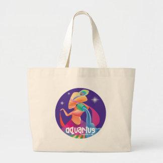 Idolz Aquarius Circle Tote Bags
