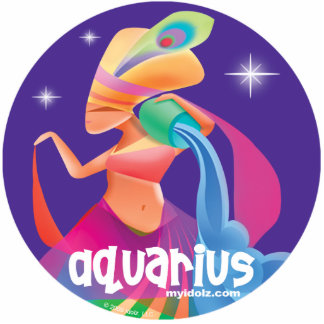 Idolz Aquarius Pin Cutout