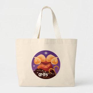 Idolz Aries Circle Tote Bag