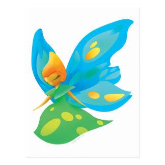 Idolz Fairies Zra Postcard