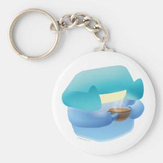 Idolz Imish Clox Basic Round Button Keychain