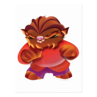 Idolz Monsters Truf Postcard