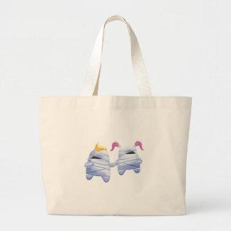 Idolz Monsters Tut & Tess Canvas Bag