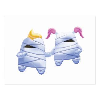 Idolz Monsters Tut & Tess Postcard