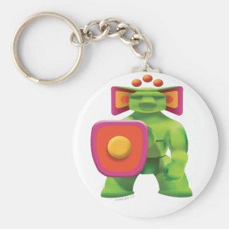 Idolz Totemz Jabr Basic Round Button Keychain