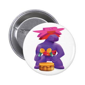 Idolz Totemz Kaz 2 Inch Round Button
