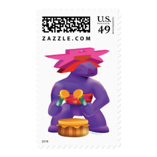 Idolz Totemz Kaz Postage Stamps