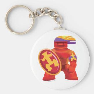 Idolz Totemz Tux Basic Round Button Keychain