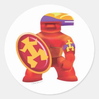 Idolz Totemz Tux Classic Round Sticker