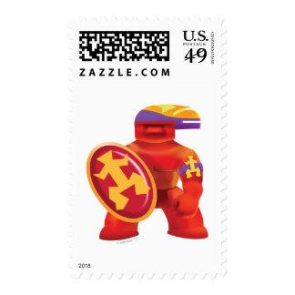 Idolz Totemz Tux Postage Stamp