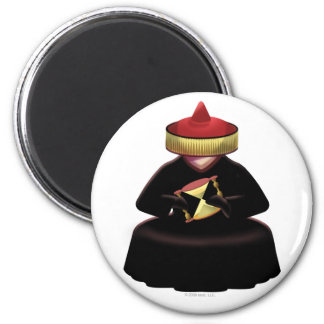 Idolz  Xagans Oota 2 Inch Round Magnet