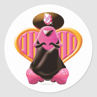 Idolz Xagans Pank Classic Round Sticker