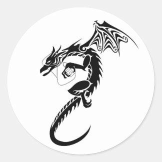 iDragon Classic Round Sticker