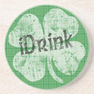 iDrink Irish Coaster