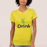 iDrink (Shamrock) Tee Shirts