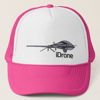 iDrone predator drone trucker hat