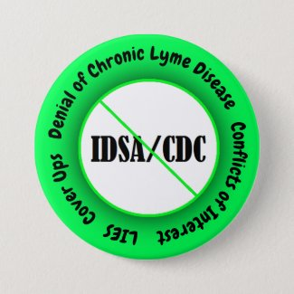 IDSA Conflict of Interest Button Lyme Disease