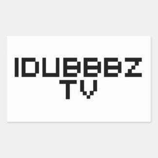 iDubbbz TV Rectangular Sticker