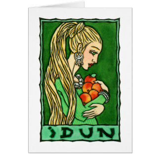 Idun Greeting Card