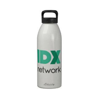 IDXnetwork apiló el logotipo Botellas De Agua Reutilizables