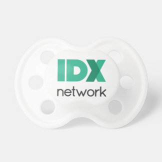 IDXnetwork Stacked Logo Pacifier