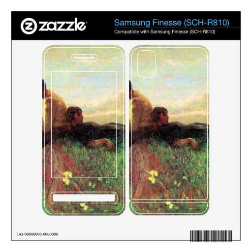 Idyl by Giovanni Segantini Samsung Finesse Decals
