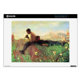 Idyl by Giovanni Segantini Decal For Acer Chromebook