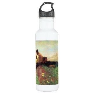 Idyl de Giovanni Segantini Botella De Agua