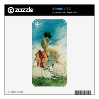 Idyll, 1868 (w/c on paper) decal for iPhone 4