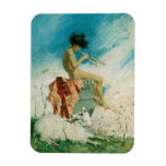 Idyll, 1868 (w/c on paper) rectangle magnet