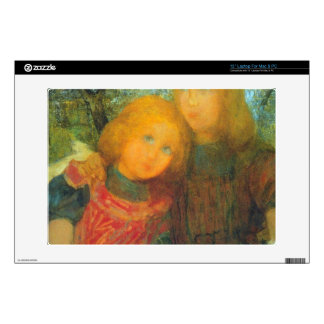 Idyll by Piet Mondrian Decals For Laptops